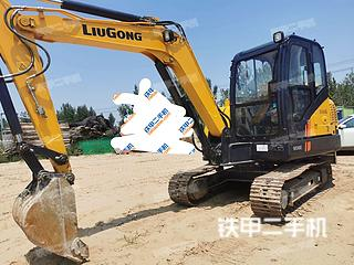 陕西-渭南市二手柳工CLG906E挖掘机实拍照片