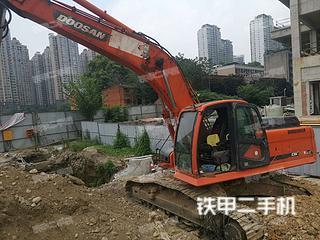 四川-绵阳市二手斗山DX260LC挖掘机实拍照片