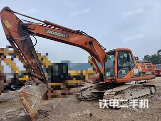 四川-宜宾市二手斗山DH225LC-7挖掘机实拍照片