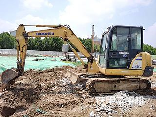 小松PC56-7挖掘機實拍圖片