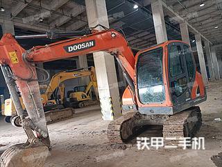斗山DX75-9C PLUS挖掘機實拍圖片