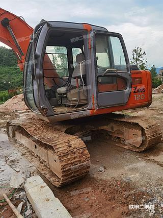 日立EX120挖掘機實拍圖片