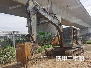 沃爾沃EC140BLC挖掘機實拍圖片