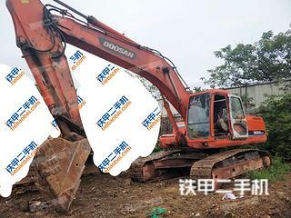 四川-成都市二手斗山DH258LC-7挖掘机实拍照片