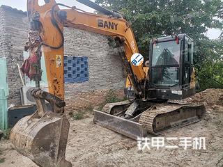 陕西-西安市二手三一重工SY60C挖掘机实拍照片