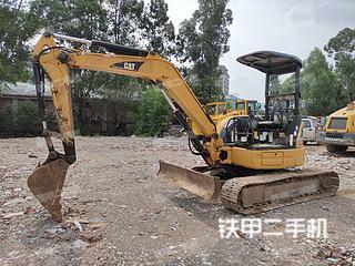 广东-广州市二手卡特彼勒304CCR挖掘机实拍照片