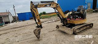 卡特彼勒303CR挖掘機實拍圖片