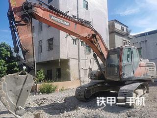 深圳斗山DX225LC-9C挖掘機實拍圖片