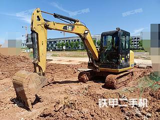 安徽-宣城市二手卡特彼勒306E2小型液压挖掘机实拍照片