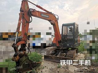 河南-郑州市二手斗山DH55-V挖掘机实拍照片