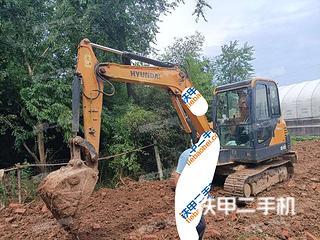 安徽-六安市二手现代R 60VS挖掘机实拍照片