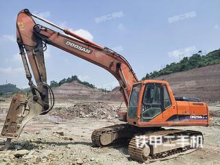 四川-乐山市二手斗山DH225LC-7挖掘机实拍照片