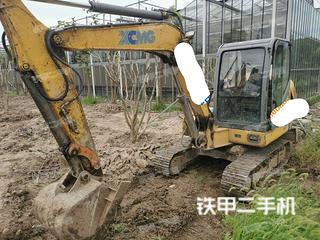 江苏-苏州市二手徐工XE60挖掘机实拍照片