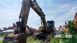 住友SH200挖掘机实拍图片