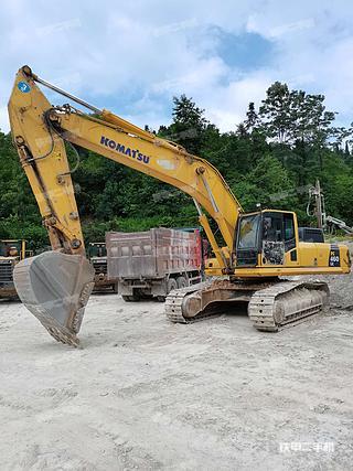 小松PC460LC-8挖掘機實拍圖片