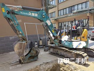 久保田U30-5挖掘機實拍圖片