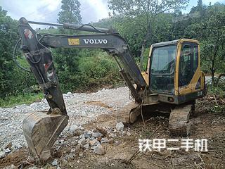 沃爾沃EC55B挖掘機實拍圖片