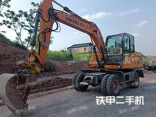 恒特重工HT145W挖掘机实拍图片