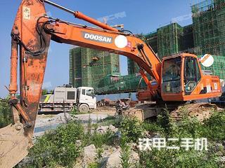 湖北-襄阳市二手斗山DH215-9E挖掘机实拍照片