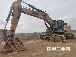 甘肃-兰州市二手徐工XE470D挖掘机实拍照片