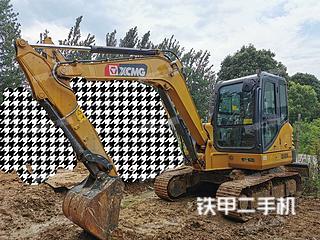 安徽-合肥市二手徐工XE60DA挖掘机实拍照片