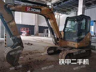 安徽-六安市二手徐工XE60DA挖掘机实拍照片
