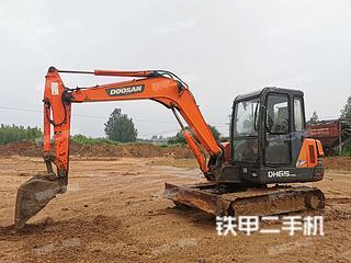 日照斗山DH55-V挖掘機實拍圖片