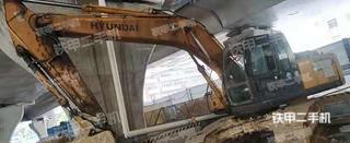 深圳現代R225LC-7挖掘機實拍圖片