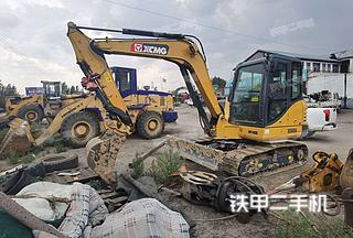 内蒙古-鄂尔多斯市二手徐工XE60DA挖掘机实拍照片