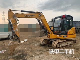 江苏-镇江市二手柳工CLG9055E挖掘机实拍照片