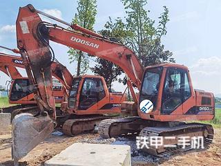 湖南-怀化市二手斗山DH150LC-7挖掘机实拍照片