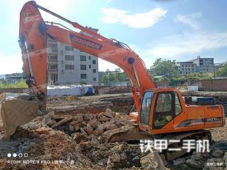 龍巖斗山DH300LC-7挖掘機實拍圖片