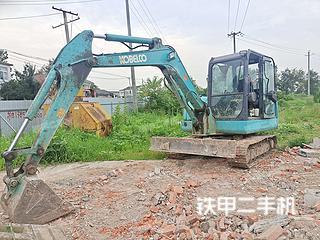 安徽-合肥市二手神钢SK60-8挖掘机实拍照片