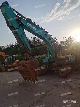 山西-晋中市二手神钢SK250-8挖掘机实拍照片