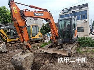 江苏-常州市二手斗山DX60挖掘机实拍照片
