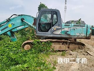 湖南-岳阳市二手神钢SK260LC-8挖掘机实拍照片