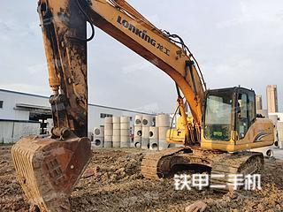 安徽-六安市二手龙工LG6225挖掘机实拍照片