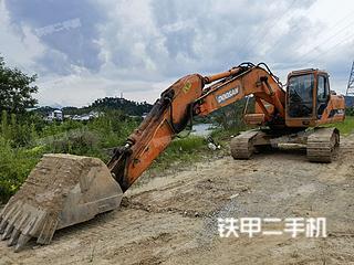 安徽-黄山市二手斗山DH225LC-7挖掘机实拍照片