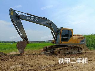 安徽-巢湖市二手沃尔沃EC200B挖掘机实拍照片