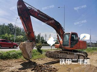 安徽-宣城市二手斗山DH220LC-7挖掘机实拍照片