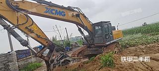 河南-安阳市二手徐工XE470D挖掘机实拍照片