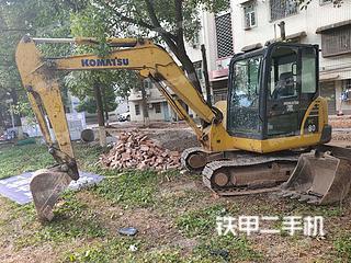 湖南-邵阳市二手小松PC56-7挖掘机实拍照片