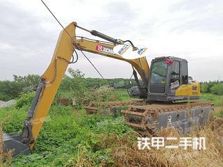 湖南-益阳市二手徐工XE135D挖掘机实拍照片