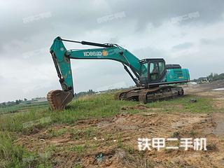 許昌神鋼SK380XD-10挖掘機實拍圖片