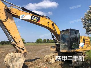 江西-南昌市二手卡特彼勒320GC挖掘机实拍照片