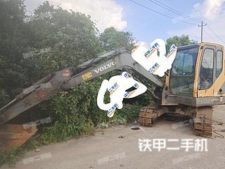 江苏-常州市二手沃尔沃EC55B挖掘机实拍照片