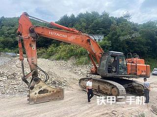 浙江-金华市二手日立ZX470H-3挖掘机实拍照片