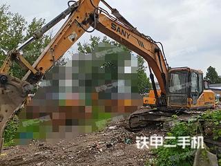 安徽-宿州市二手三一重工SY215C挖掘机实拍照片