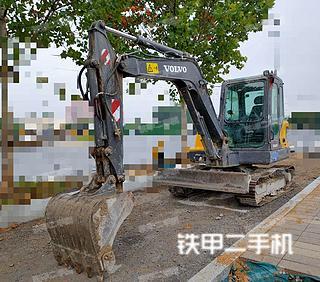 河南-郑州市二手沃尔沃EC55DAG挖掘机实拍照片