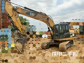 卡特彼勒320D液压挖掘机实拍图片